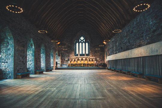 Throne Hall in Bergen, Norway