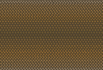 Vector seamless texture with a snake skin, python skin