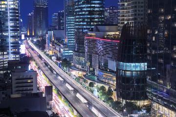Traffic jam at Kuningan Jakarta