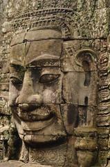 アンコール・トムの菩薩像