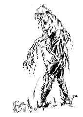 Sketch 47 - Zombie