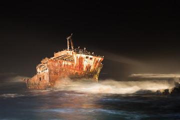 Schiffswrack am Kap Agulhas
