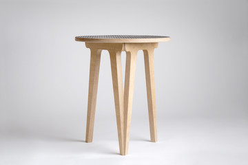 Modern Designer Wooden Stool or Small Table