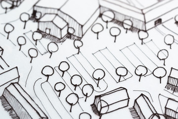 Urban Planning Detail Sketch