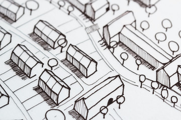 Urban Sketch Planning Idea