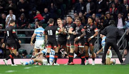 Rugby Union - Autumn Internationals - England vs Argentina