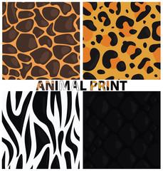 Animal print. Animal texture. Animal pattern