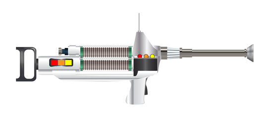 Sci-Fi Laser Rifle