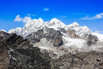 Sagarmatha National Park in the Nepal Himalaya.