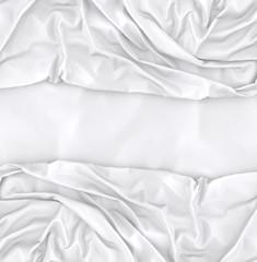 Fondo de moda y textil en color blanco.Telas y moda