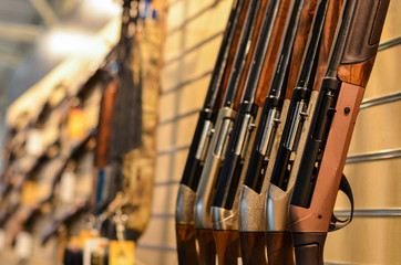 guns in row