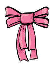 Pink Decorative Bow