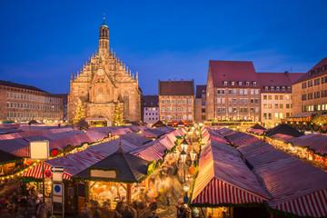 Weihnachtsmarkt in Nürnberg, Deutschland