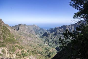 Visiting Santo Antao in Capo Verde
