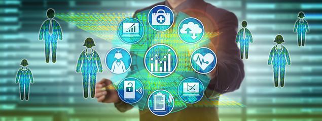 Data Manager Measuring Population Healthcare