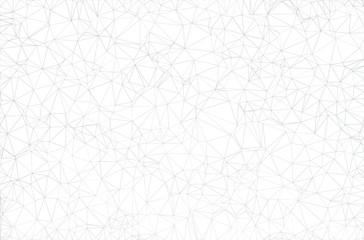 leichter weisser polygon hintergrund Fotoväggar