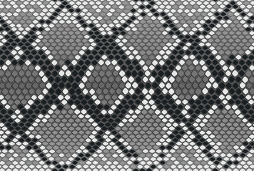 Vector seamless texture with a reptile skin, snake skin