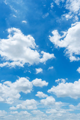 Wall Murals Heaven clear blue sky background,clouds with background.