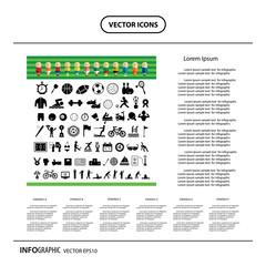 vector sports icon set