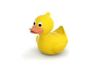 Rubber duck with clipping path