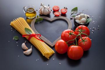 Spaghetti italian food ingredient