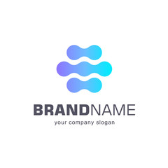Vector logo template for business