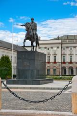 Josef Poniatowski monument
