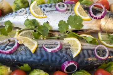 cooking mackerel fish