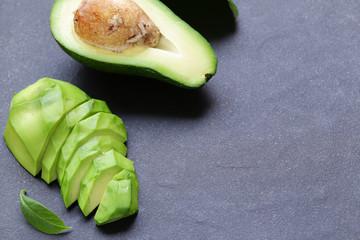 natural organic avocado - healthy and nutrition food