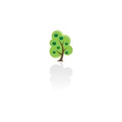 tree apple logo