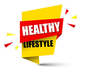 banner healthy lifestyle