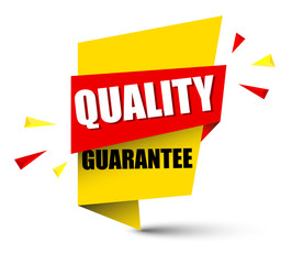 banner quality guarantee