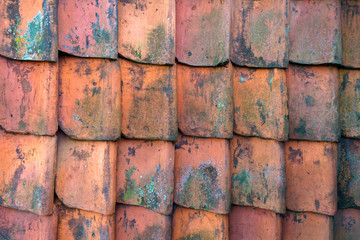 roof clay slates pattern texture background