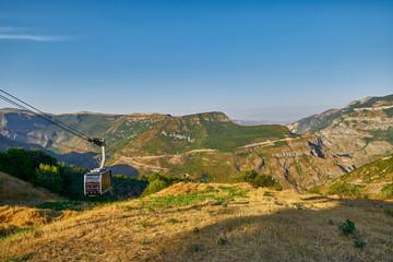 Views from Tatev Cable Car ropeway in Armenia