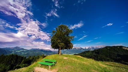 Aussichtspunkt-Hocheck in Oberaudorf