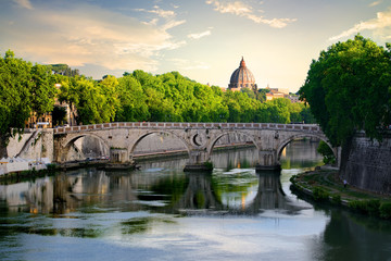 Bridge Sisto in Rome
