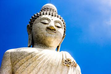 Big buddha statue in Phuket Thailand