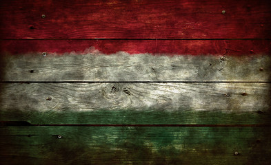 Wall Mural - flagge ungarn