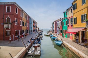 Aluminium Prints Venice Murano and Burano in Italy