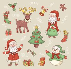 Cute christmas set.