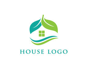 future modern green house logo