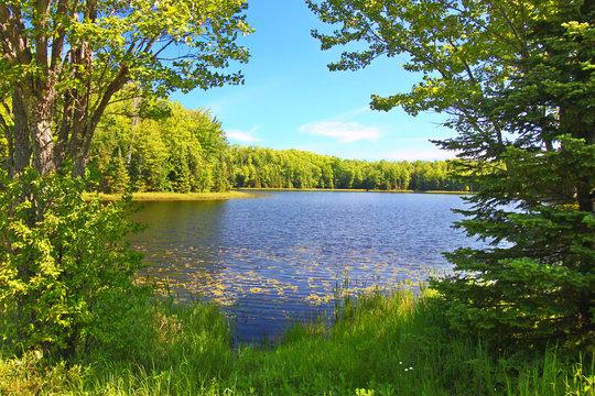 Mabel Lake Northwoods Wisconsin