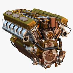 Diesel Engine V12