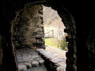 Parroquia de Canillo en  Andorra. Estilo romanico
