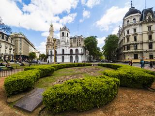 Cabildo, ehemaliger Regierungssitz,Plaza de Mayo, Platz der Mairevolution oder Mai-Platz, Buenos Aires, Argentinien