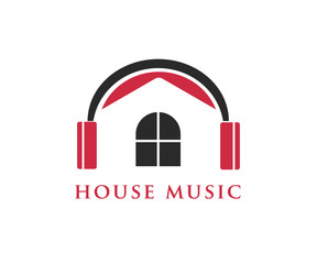 house music entertainment logo