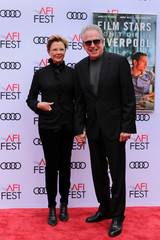 "Cast member Annette Bening and her husband Warren Beatty arrive for the special screening of ""Film Stars Don't Die in Liverpool"" at the AFI Film Festival in Los Angeles"