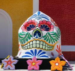 Mexico, dead of the dead skull