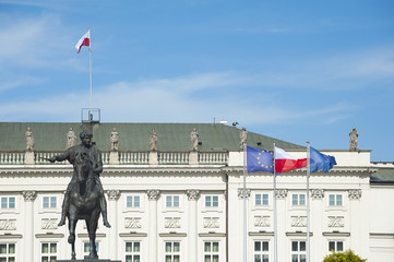 Presidential Palace in Warsaw, Poland