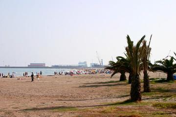 Puerto de Sagunto. Zona costera de Castellon